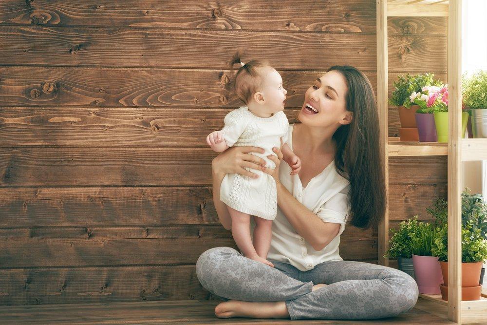 Картинки веселые мама и малыш, лет