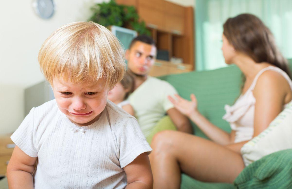 развод с малолетними детьми