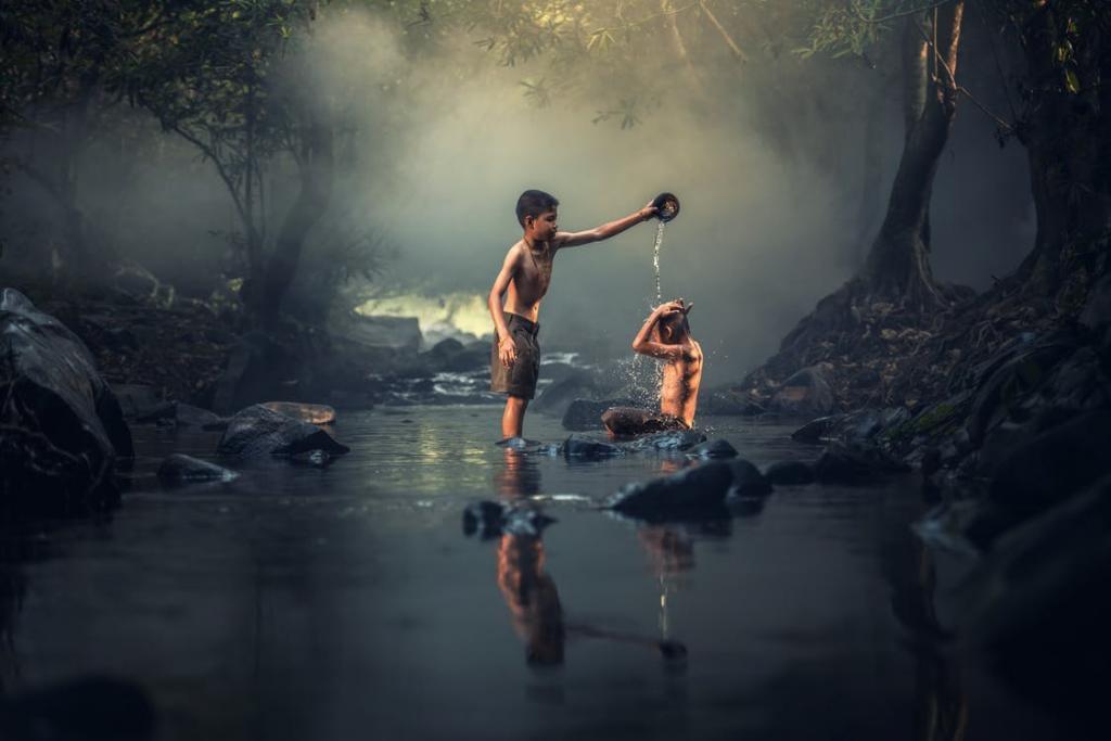 Как заблудившемуся ребенку выжить в лесу