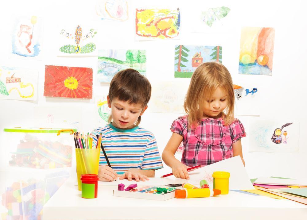 Занятия с детьми картинки рисованные